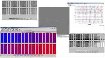 不揮発メモリのアナログビットマップ評価ソフト